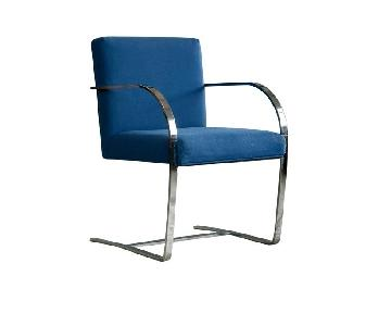 Mies van der Rohe Style Brno Armchairs