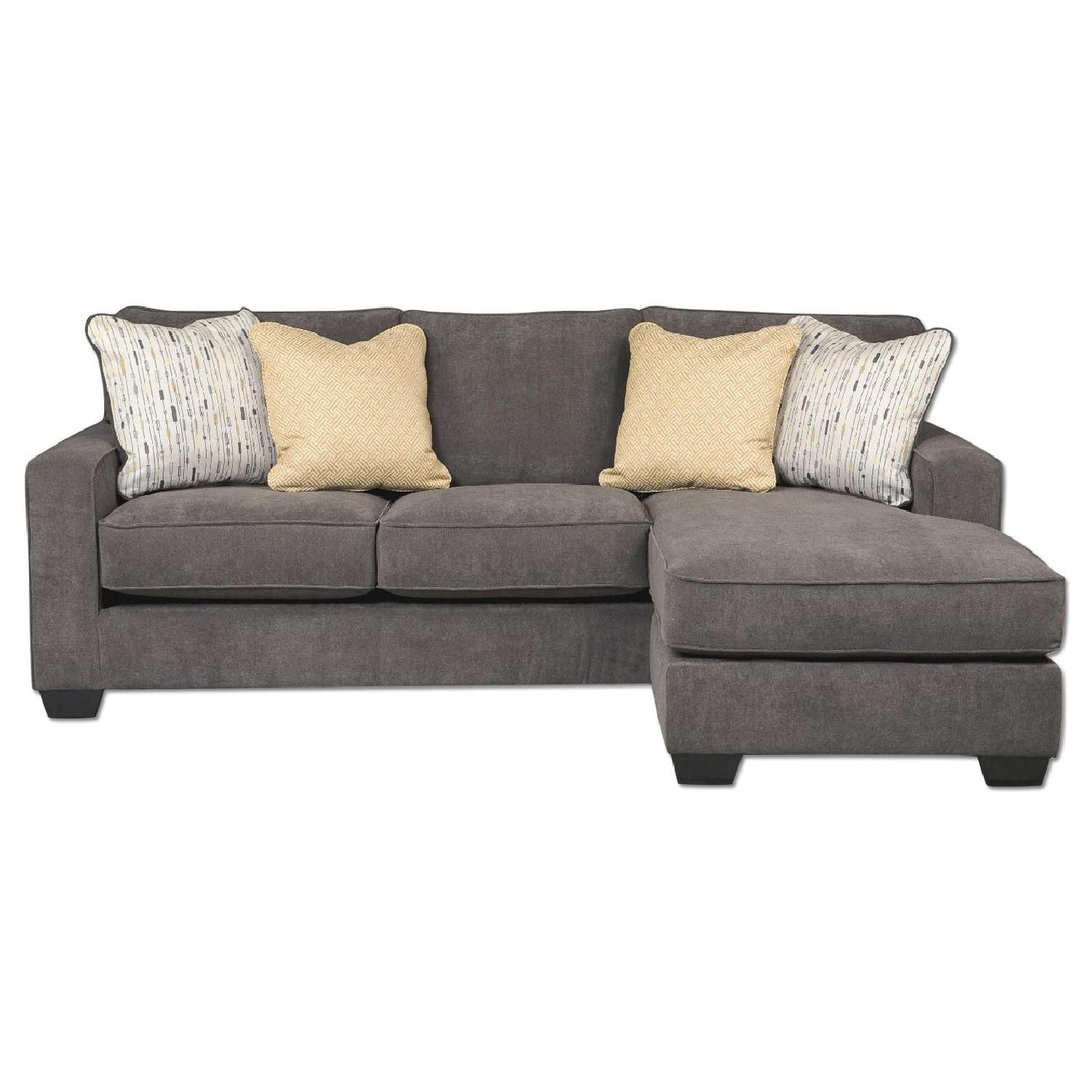 ashley 39 s hodan sectional sofa in marble