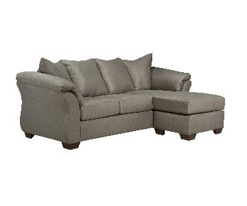 Ashley's Darcy Sectional Sofa in Cobblestone