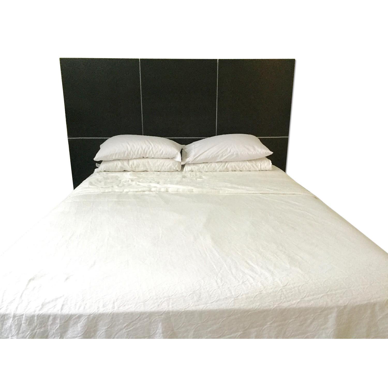 Ligne Roset Lumeo Queen Bed Frame W Headboard Aptdeco