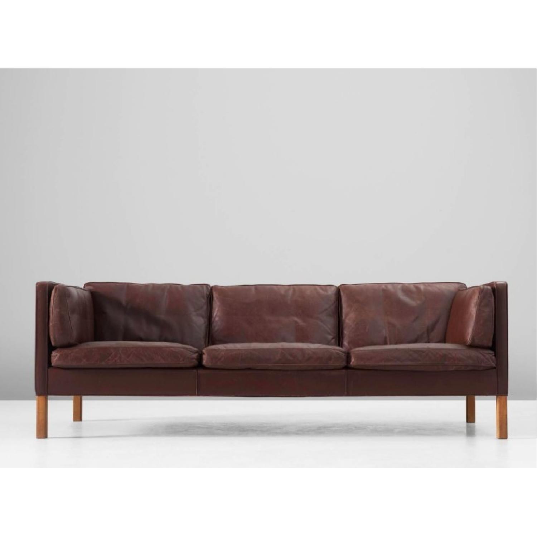 Borge Mogensen Leather Sofa ...