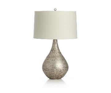 Crate & Barrel Mulino Teardrop Table Lamp