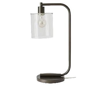 West Elm 'Lens Table Lamps
