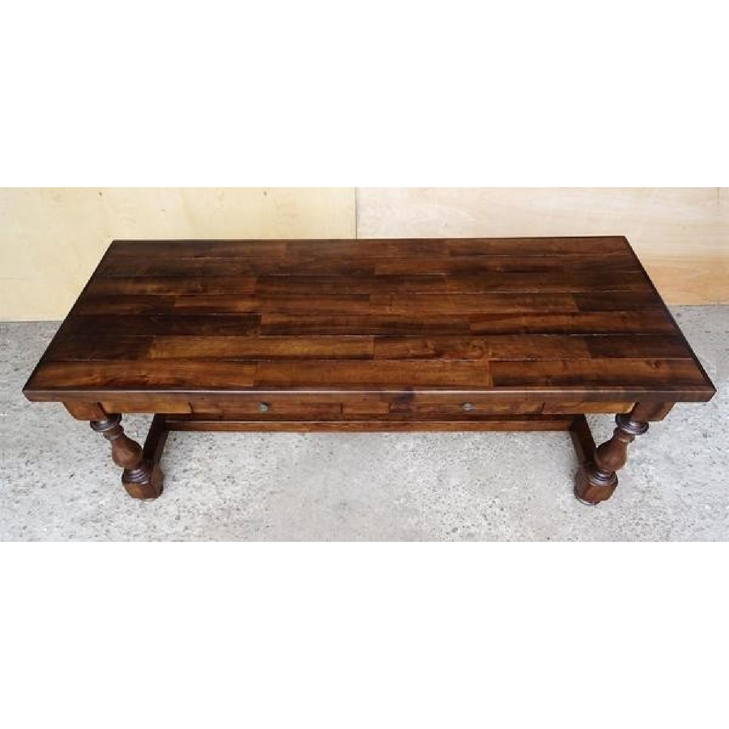 Antique French Country Style Refectory Dining Table