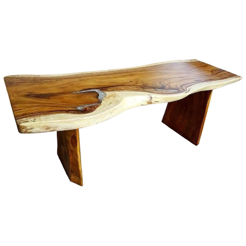 into the west rustic furniture glowapp soar teak slab epoxy resin dining table rustic brazilian extension aptdeco