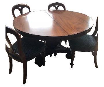Antique American 6-Piece Expandable Dining Set