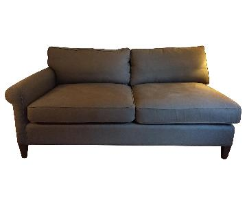 Crate and Barrel Montclair One Arm Sofa