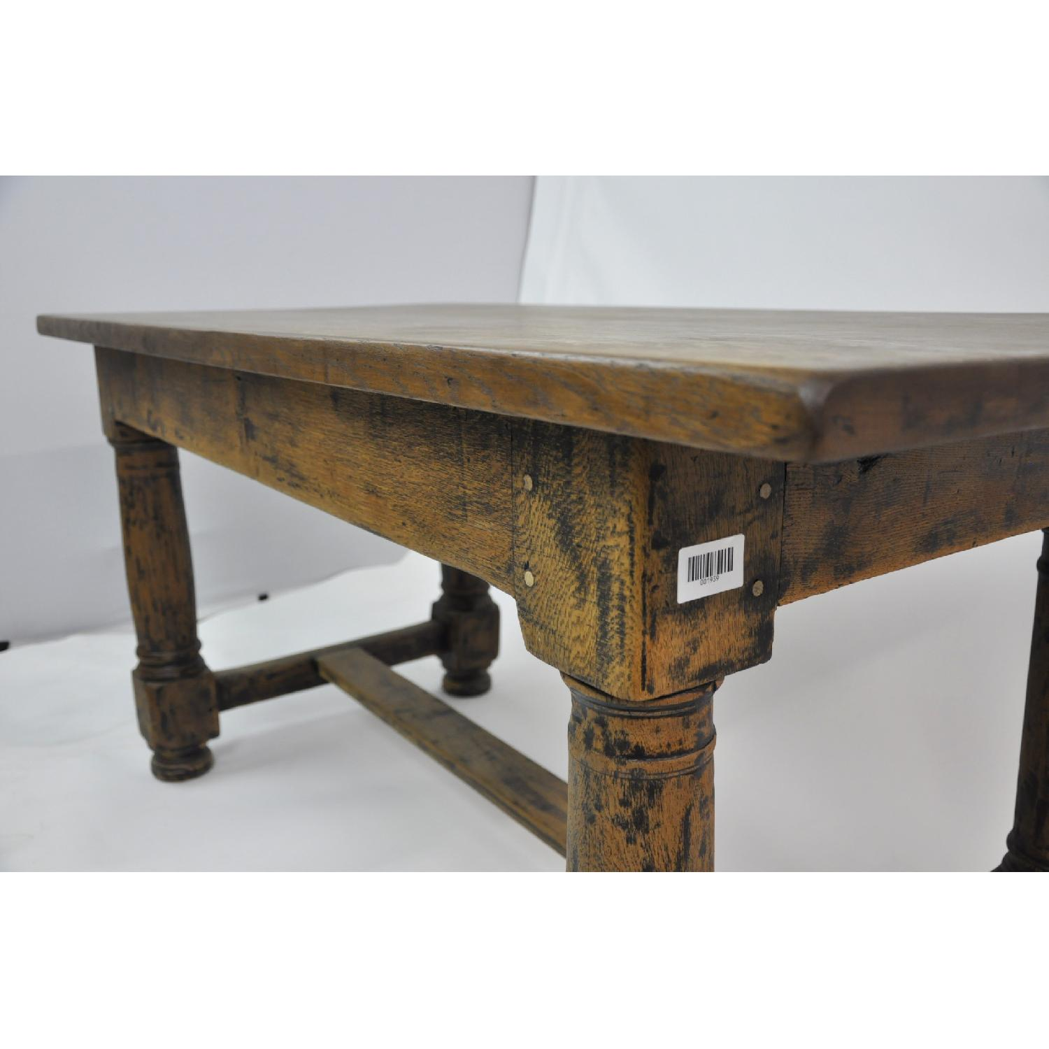 18 C French Farmhouse Country Oak Dining Table