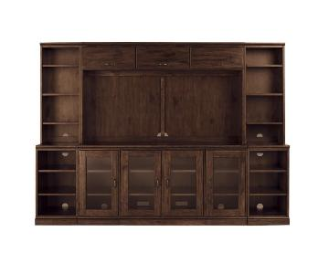 Pottery Barn Printers Large Media Suite w/ Hutch
