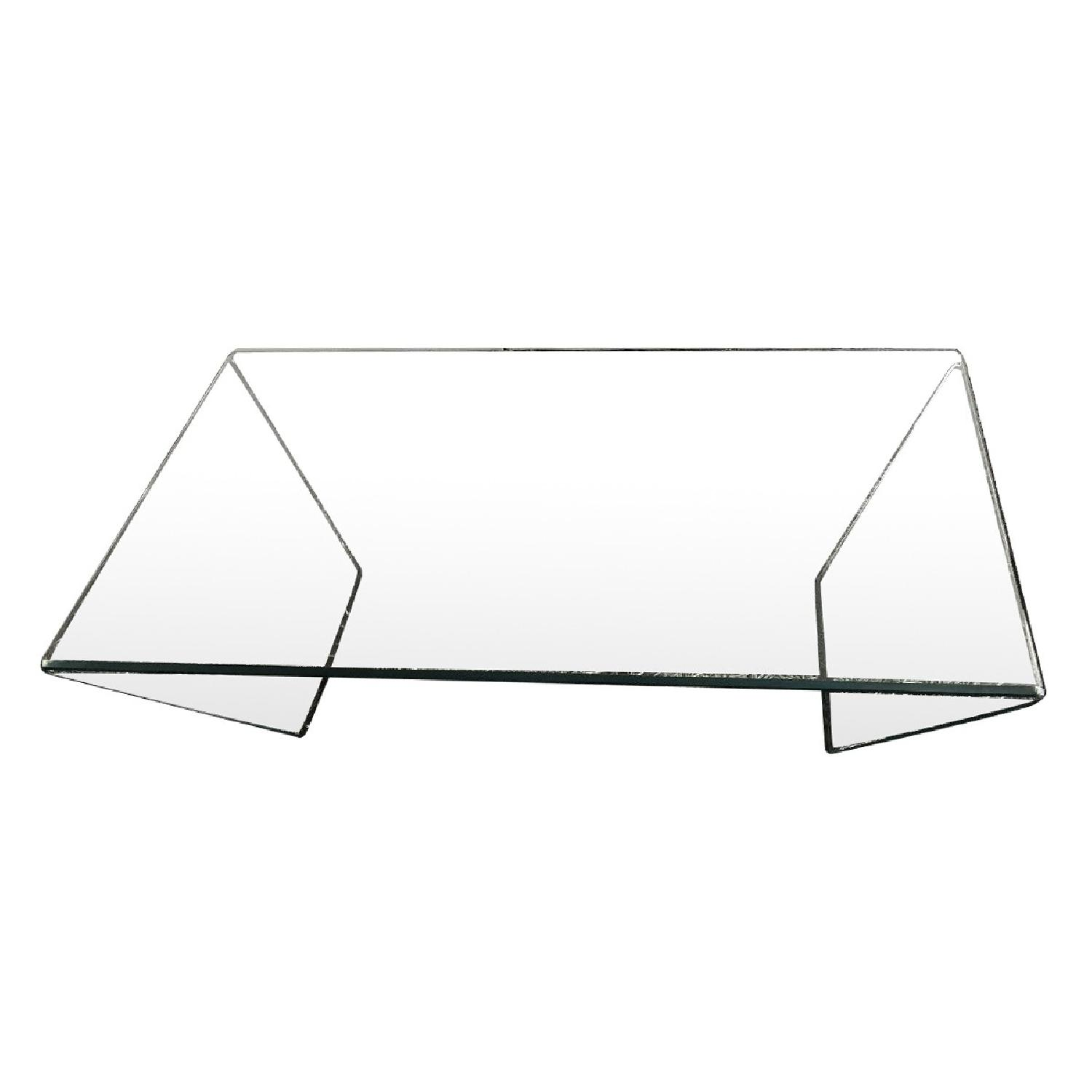 Lazzoni Modern Glass Coffee Table ...