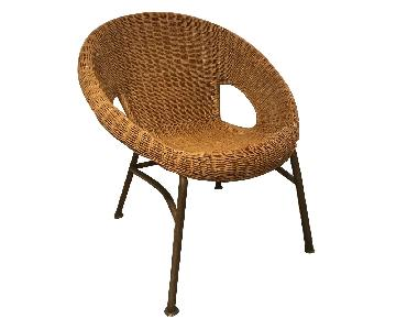 Pier 1 Rattan Accent Chair
