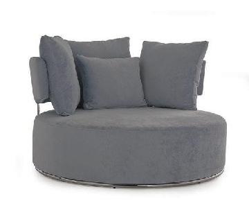 Lazzoni Eva Dark Grey Chair