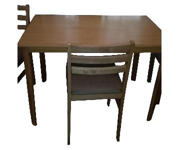 Wayfair Dining Table w/ 4 Chairs
