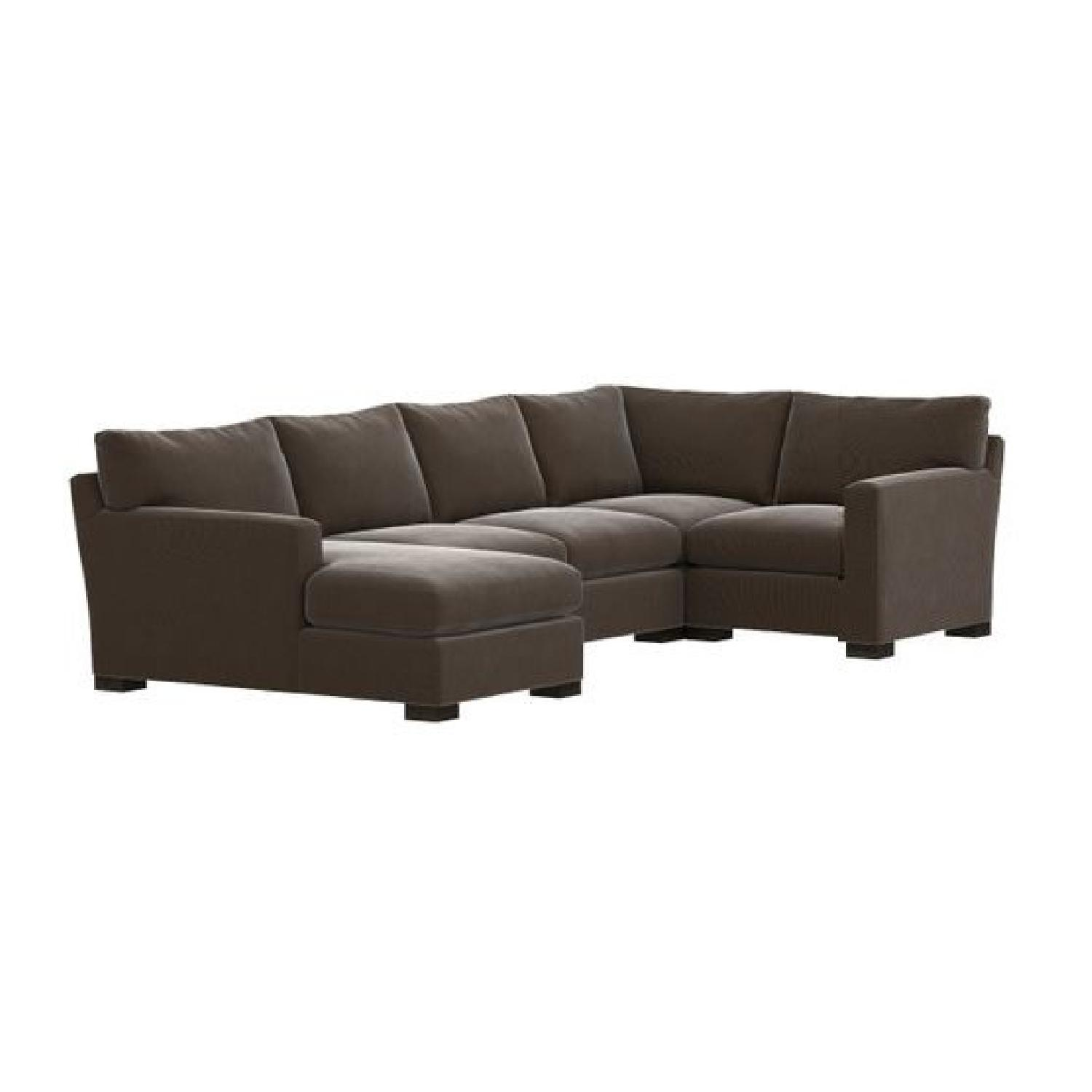 Crate & Barrel Axis 4-Piece Sectional Sofa