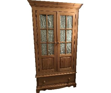 Solid Pine Wooden Armoire