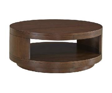 Raymour & Flanigan Tessa Coffee Table + 2 End Tables