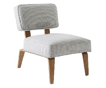 West Elm Bentwood Slipper Chair