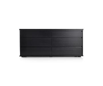 Crate & Barrel Oliver 6-Drawer Dresser
