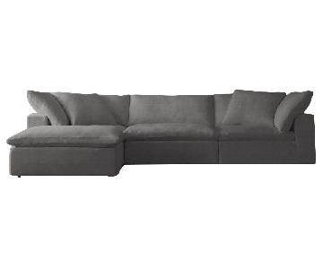 Restoration Hardware Cloud 5-Piece Modular Sectional Sofa