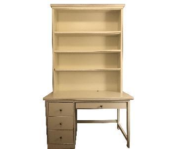 Steven Sorman Bookshelf Desk w/ Lavender Trim