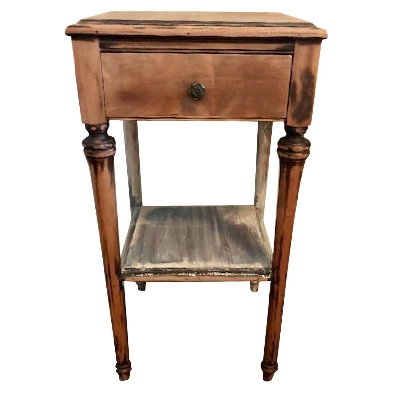 Vintage Painted Side/Bedside Table