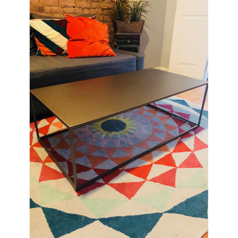 CB Mill Coffee Table AptDeco - Cb2 mill coffee table