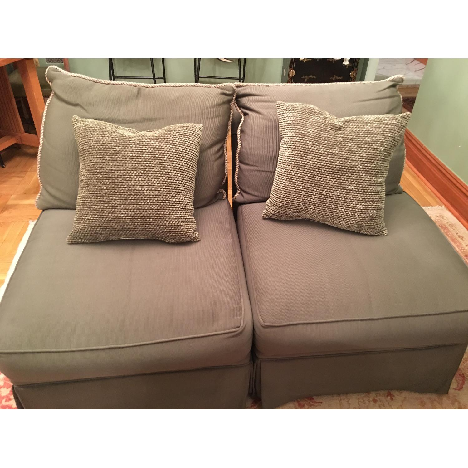 Macy's Armless Accent Chairs