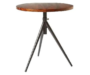 West Elm Round Adjustable Bistro Table
