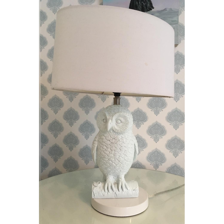 West elm owl table lamp aptdeco west elm owl table lamp 1 aloadofball Choice Image