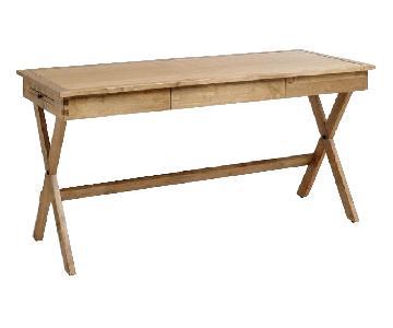 Modern Wood Desk & Chair