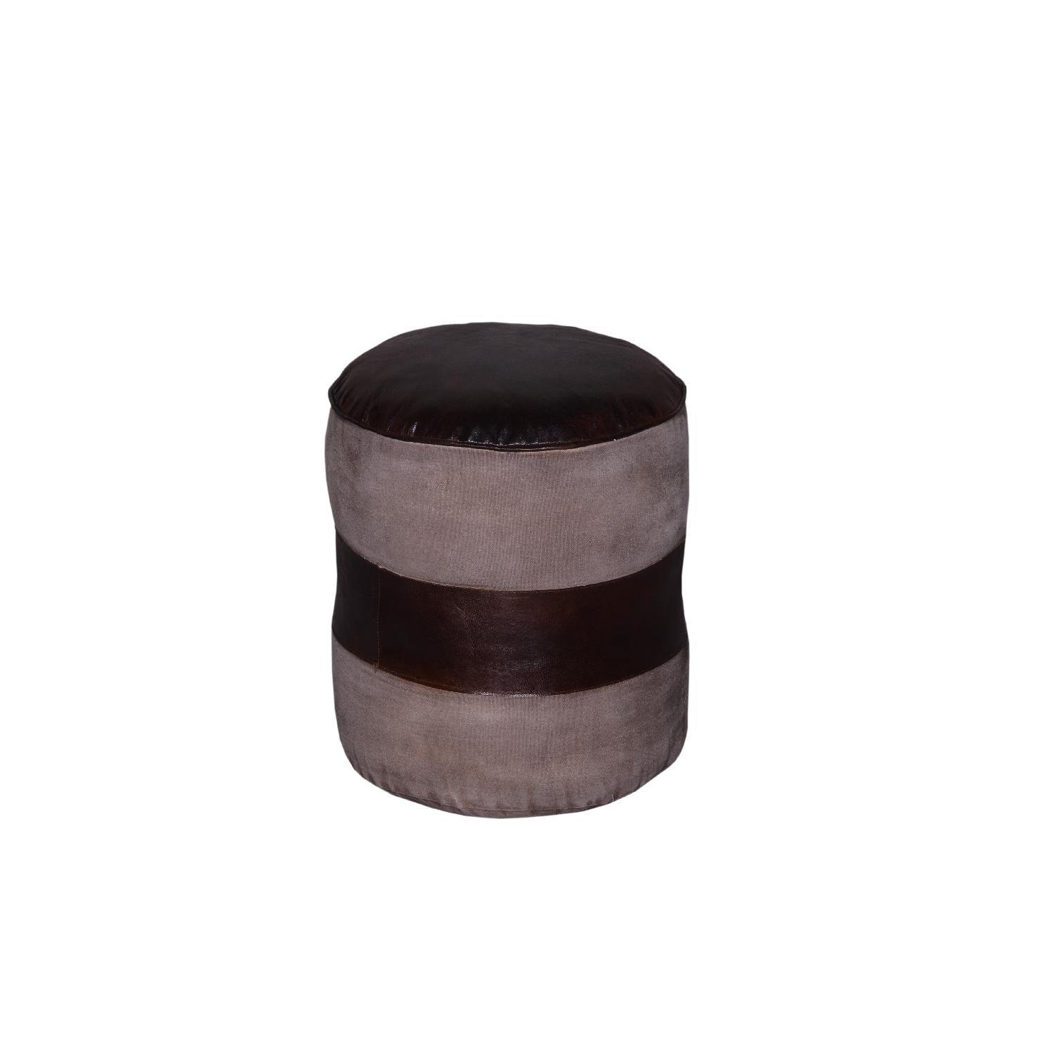 Designe Gallerie Tristin Leather Poufs