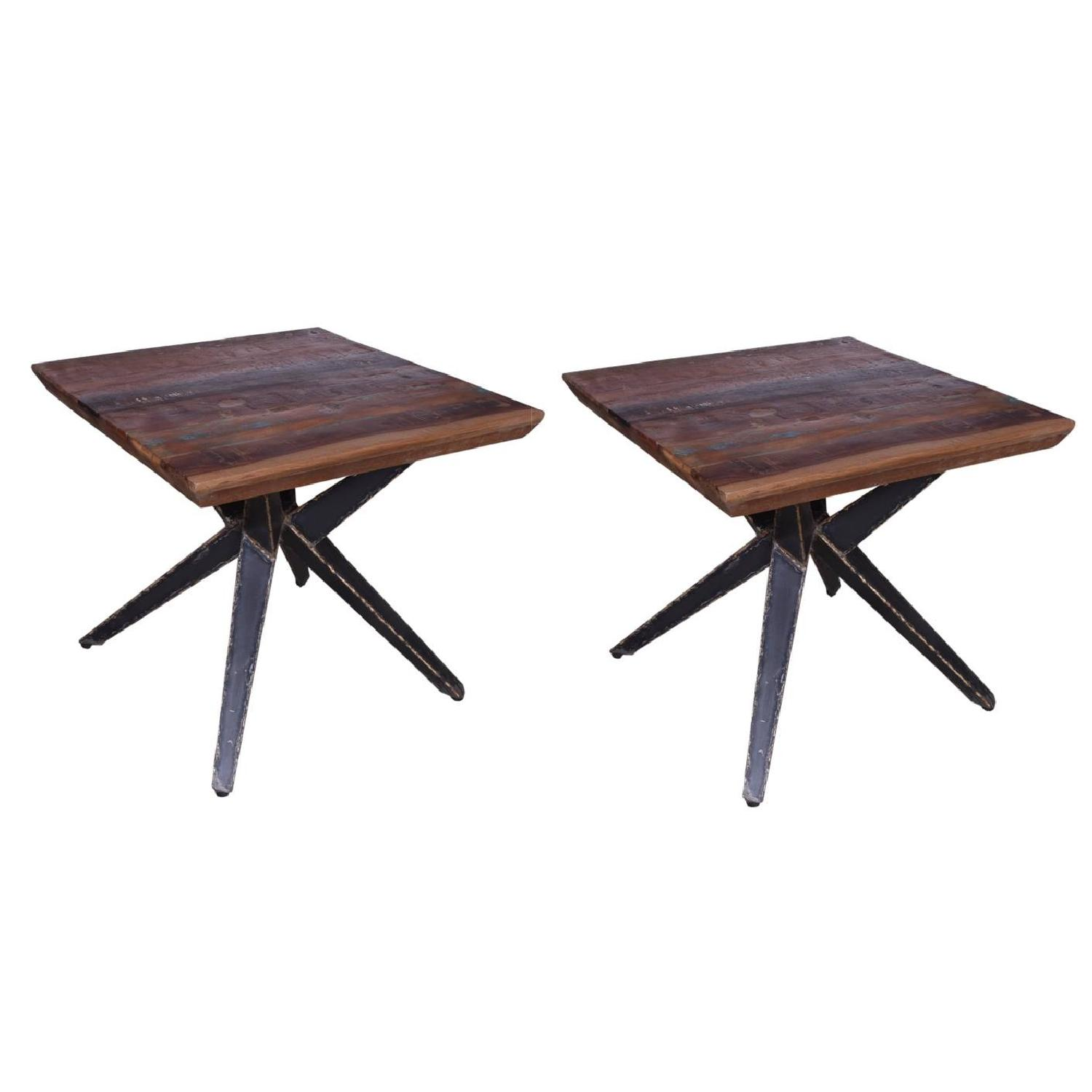 Designe Gallerie Faunia Wooden End Table