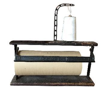 Antique Butcher Roll Dispenser