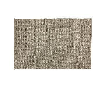 Crate & Barrel Yvonne Grey Wool-Blend Rug