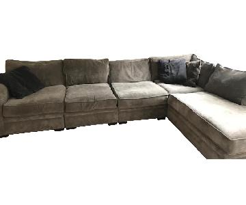 Raymour & Flanigan Artemis II 4 Piece Sectional Sofa