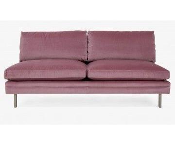 ABC Carpet and Home Highline Lorimer Velvet Sofa