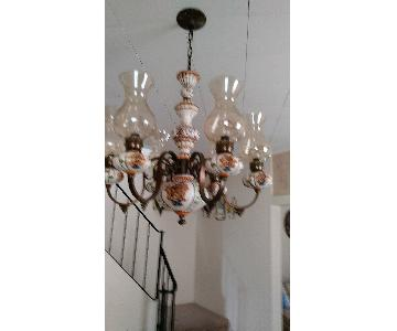 Vintage Spanish Handcrafted Chandelier