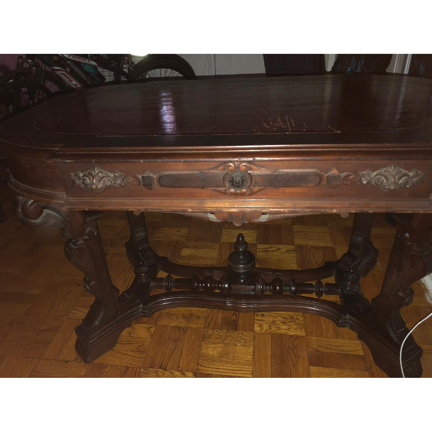 19th Century Victorian Renaissance Revival Center Table