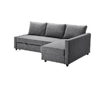 Ikea Friheten Sleeper Sectional Sofa w/ Storage