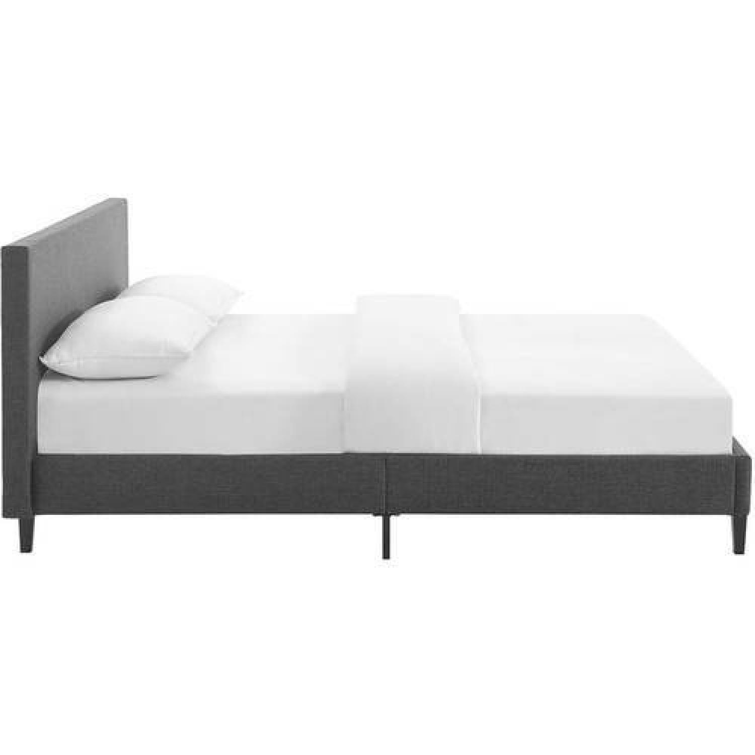 ... Modway Anya Fabric Full Size Platform Bed 1