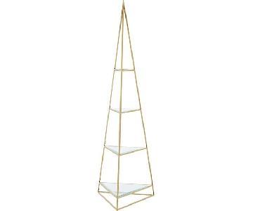 CB2 Pyramid Etagere