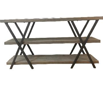 Rustic Industrial Driftwood Shelves/Bookcase