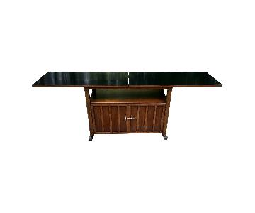 Mid Century Bar Cabinet/Console Table