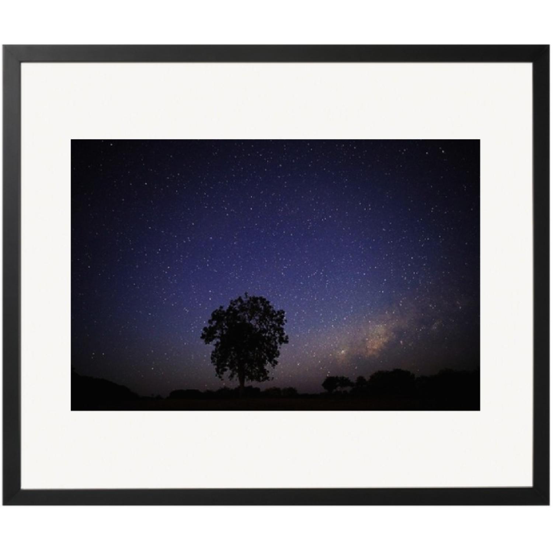 Framed Photograph - Night Sky
