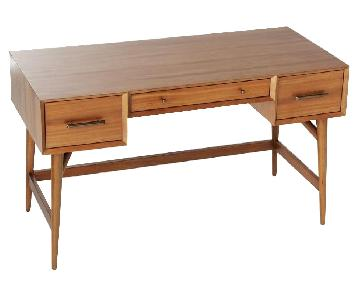 West Elm Mid-Century Desk in Acorn