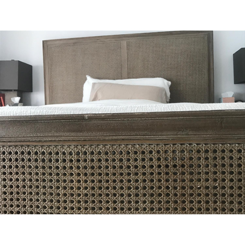 Restoration Hardware Maison Caned Bed w/ Footboard