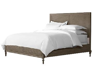 Restoration Hardware Maison Caned Bed w/ Footboard