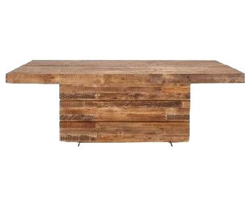 ABC Carpet and Home Verge Reclaimed Wood Dining Table