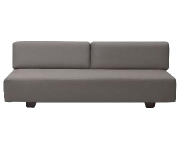 West Elm Tillary Grey Sofa