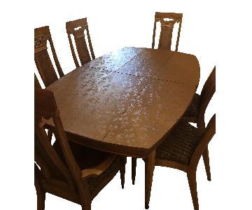 7 Piece Walnut Dining Set